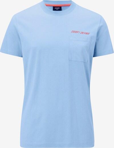 JOOP! Jeans Shirt 'Ajas' in de kleur Hemelsblauw / Lichtoranje, Productweergave