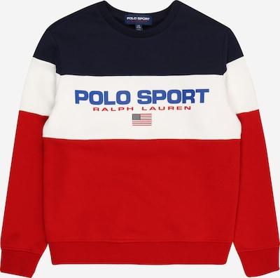 POLO RALPH LAUREN Sweat en bleu / bleu marine / rouge / blanc, Vue avec produit
