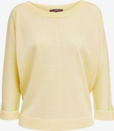 Esprit Collection Pullover in hellgelb, Produktansicht