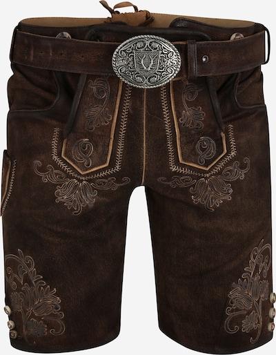 Pantaloni per costume tradizionale 'Fernando' Krüger Madl di colore marrone scuro, Visualizzazione prodotti