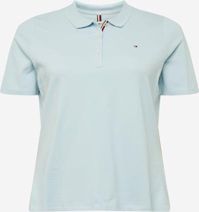 Tommy Hilfiger Curve Shirt in de kleur Lichtblauw, Productweergave