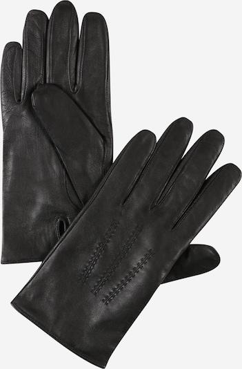 Mănuşi cu degete 'Hainz4' BOSS pe negru, Vizualizare produs