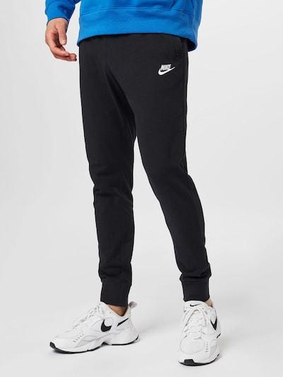 Nike Sportswear Kalhoty - černá / bílá, Model/ka