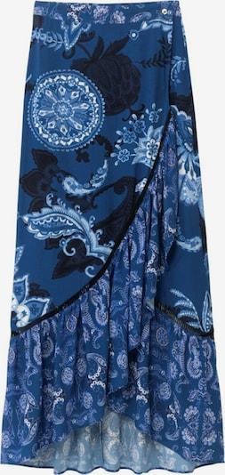 Fustă 'NEREA' Desigual pe bleumarin / albastru noapte / alb, Vizualizare produs