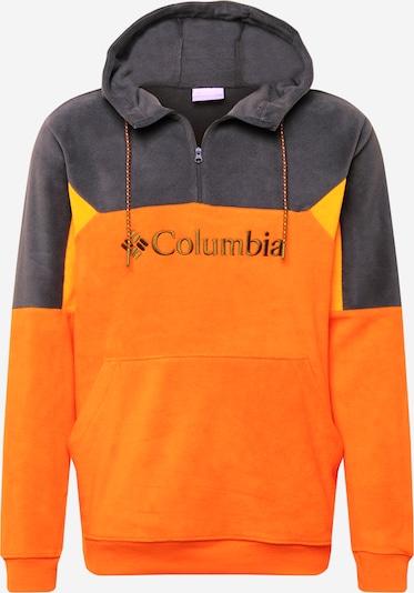 COLUMBIA Športová mikina 'Lodge II' - žltá / tmavosivá / svetlooranžová, Produkt