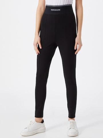 Calvin Klein Jeans Leggings in Schwarz
