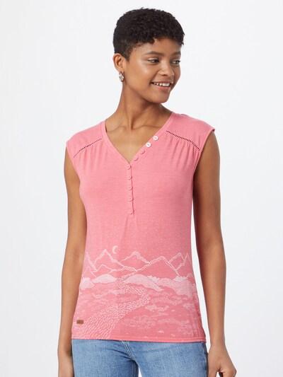 Ragwear Bluse 'SALTY' in pink / weiß, Modelansicht