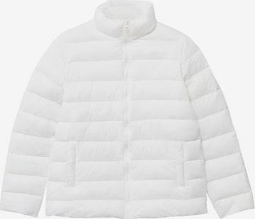 Veste d'hiver 'Aliteen' MANGO KIDS en blanc