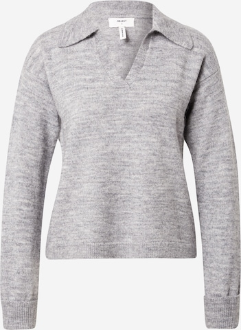 OBJECT Pullover 'LAUREN' in Grau