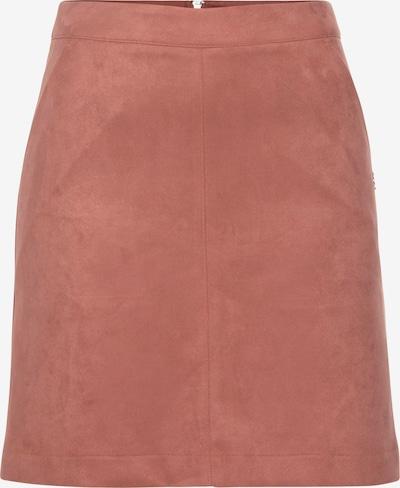 TAMARIS Lederimitatrock in rosa, Produktansicht