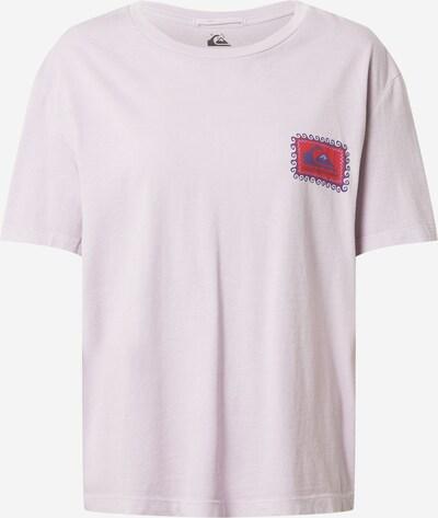 QUIKSILVER Camiseta en lila pastel / lila oscuro / rojo, Vista del producto