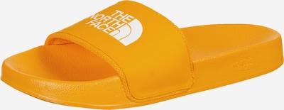 THE NORTH FACE Claquettes / Tongs 'Sportswear' en jaune / blanc, Vue avec produit