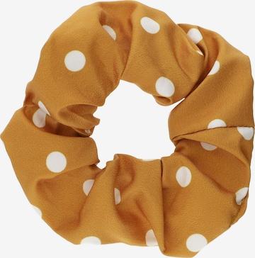 Ornement pour cheveux Six en orange