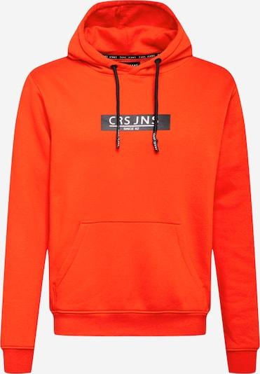 Cars Jeans Sweater majica 'PEARSER' u narančasta / crna / bijela, Pregled proizvoda