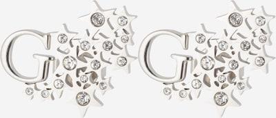 Cercei GUESS pe argintiu, Vizualizare produs