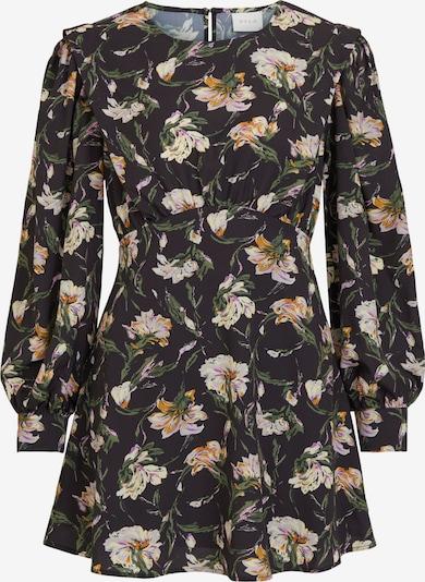 VILA Kleid in khaki / pastelllila / orange / schwarz / weiß, Produktansicht