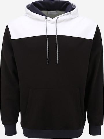 Sweat-shirt Calvin Klein Big & Tall en noir