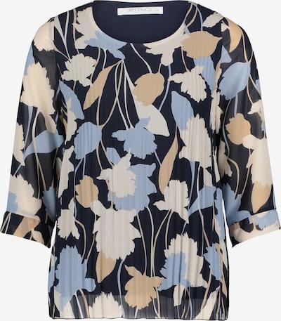 Betty & Co Bluse in beige / navy / himmelblau / weiß, Produktansicht