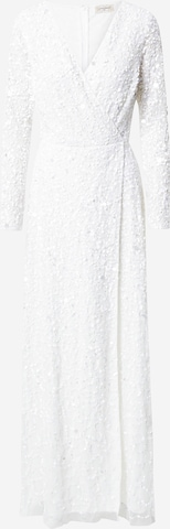 LACE & BEADS Evening dress 'Mariah' in White