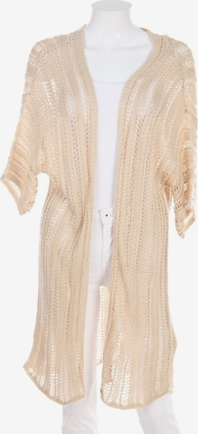 BODYFLIRT Sweater & Cardigan in S-M in Beige