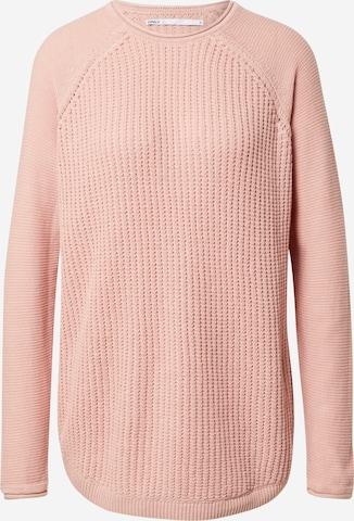 rožinė ONLY Megztinis 'THORA'