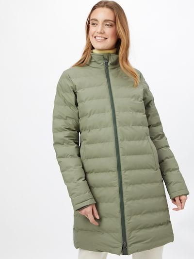 Derbe Between-seasons coat in Olive, View model