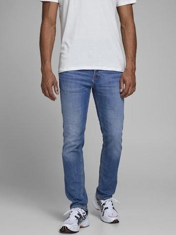 JACK & JONES Jeans 'JJIGLENN JJORIGINAL AM 815 NOOS' in Blau