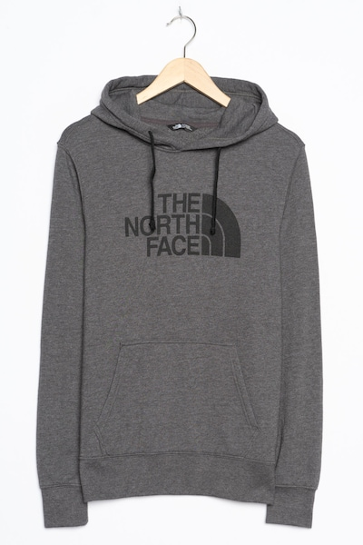 THE NORTH FACE Kapuzenpullover in S in dunkelgrau, Produktansicht