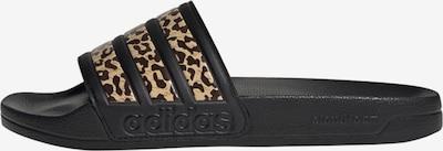krém / barna / fekete ADIDAS PERFORMANCE Strandcipő 'Adilette', Termék nézet