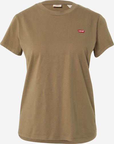 LEVI'S Tričko - khaki / světle červená / bílá, Produkt
