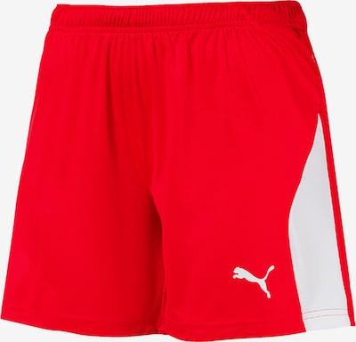 PUMA Hose in rot / weiß, Produktansicht
