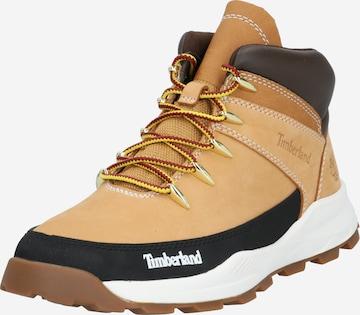 TIMBERLAND Sneakers 'Brooklyn Euro Sprint' in Brown