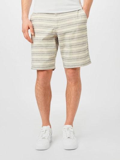 GAP Chino hlače u sivkasto bež / mornarsko plava, Prikaz modela
