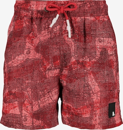 Alife and Kickin Badeshorts 'Max' in rot, Produktansicht
