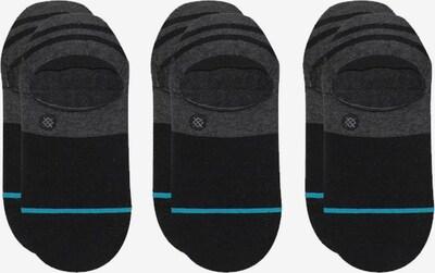 Stance Socken in türkis / graumeliert / schwarz, Produktansicht