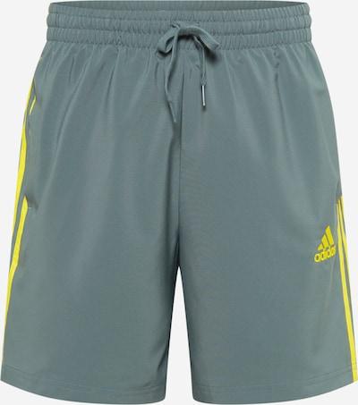 ADIDAS PERFORMANCE Spodnie sportowe 'CHELSEA' w kolorze gołąbkowo niebieski / żółtym, Podgląd produktu