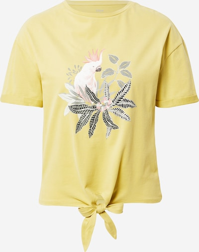 ETAM Тениска за спане 'IRMA' в жълто / сиво / бледорозово / черно, Преглед на продукта