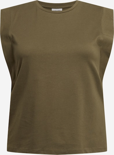 Vero Moda Curve Shirt 'PLACE' in Olive, Item view