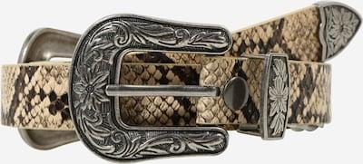 Cintura 'Viki' ONLY di colore beige chiaro / marrone scuro / grigio sfumato, Visualizzazione prodotti