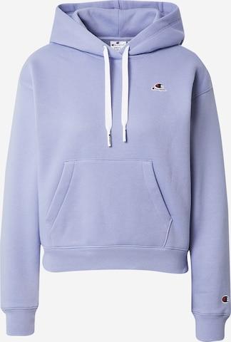 Champion Authentic Athletic Apparel Sweatshirt in Purple