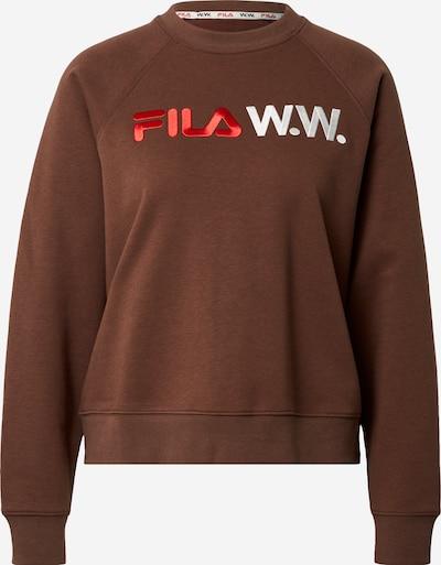 FILA Sweatshirt 'Elena' in braun, Produktansicht