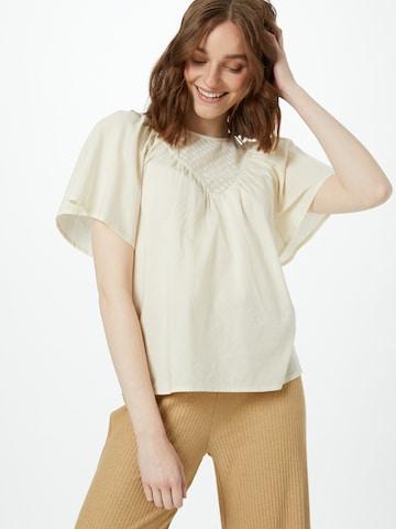 Bluză 'NIKITA' de la VERO MODA pe bej