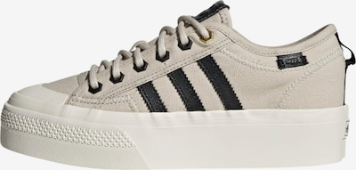 ADIDAS ORIGINALS Sneaker 'Nizza Platform' in beige / schwarz, Produktansicht