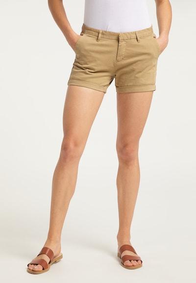 DreiMaster Vintage Shorts in sand, Modelansicht