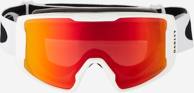 OAKLEY Sportske naočale 'Line Miner' u crvena / bijela, Pregled proizvoda