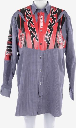 Vetements Hemdkleid in XS in marine / mischfarben, Produktansicht
