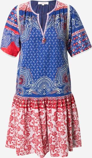 Derhy Robe-chemise 'CADEAU' en bleu / rose / rouge / blanc, Vue avec produit