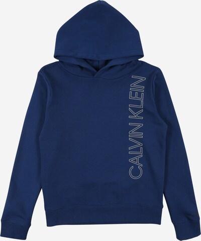 Calvin Klein Jeans Sweatshirt in blau / weiß, Produktansicht