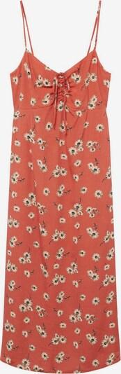 MANGO Лятна рокла 'Illeta' в бежово / кафяво / оранжево, Преглед на продукта
