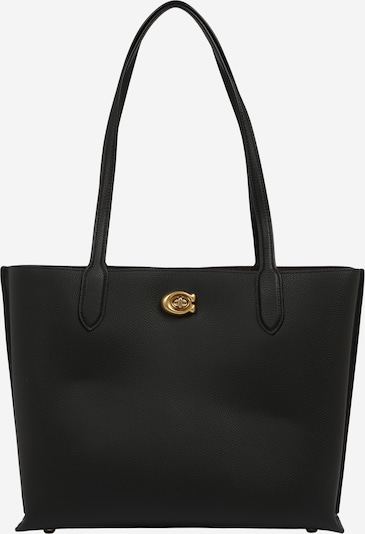 COACH Shopper 'leather willow tote' i sort, Produktvisning